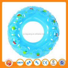 Pool float toys promotional plastic baby swim ring