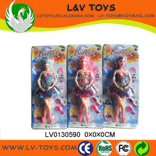 New items in china market grace doll,plastic doll joints with light and music