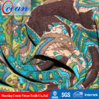 hot selling printed moleskin/Korea velvet fabric
