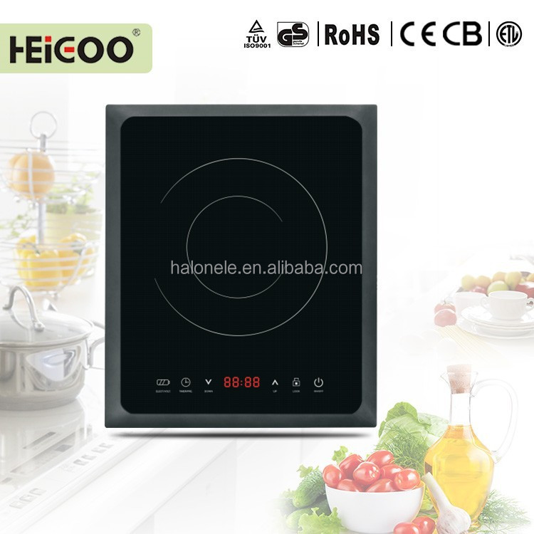 Multi funciton high quality touch sensor single induction cooker