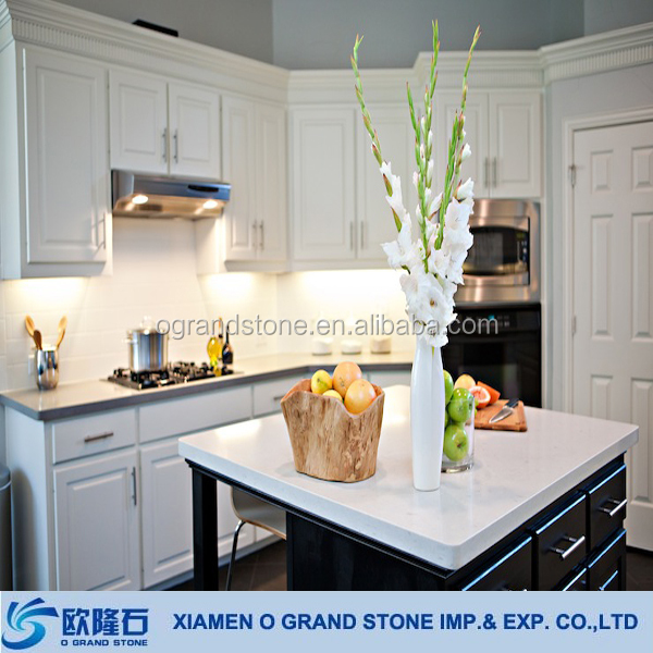 White Quartz Dining Room Table Tops Material