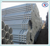 Hot dipped galvanized steel pipe/Zinc coating round steel pipe for scaffolding