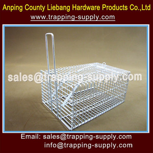 Home Depot Animal Trap Cage For Rats,Mice,Chipmunks,Red Squirrels,Weasels,Gopher