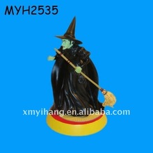 New fashion polyresin black man figurine from fairy tale