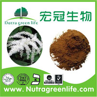 High quality 100% natural 2.5% Triterpene glycosides Black Cohosh Extract