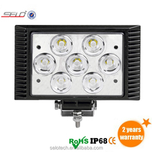 Factory Sale 3D Optical Lens 35W Off Road LED Work Light Truck HD45035
