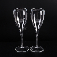 Best Quality In Low Price Wedding Used Cristal Plastic clear champagne