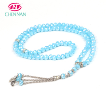 99-bead camellia glass Islamic Muslim 99 crystal by tasbih tesbih manufacturer