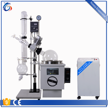 50L alcohol rotary evaporator lab with rectification column and condenser