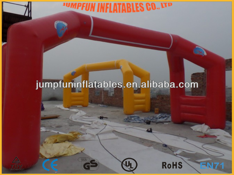 cheap inflatable air tight arch for 2014 Inflatable Finish/PVC inflate Start