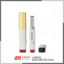 unique shape square inner tube cosmetic slim lipstick tube wholesale