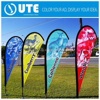 cheap goods from china best selling products custom outdoor teardrop flags