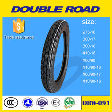 China factory double road brand motorcycle tire 110/90-16 wholesale