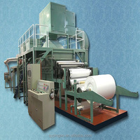 Cultural paper making machine price including a4 paper,printing paper,writing paper with processing equipment