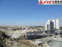 120 m3/h mobile concrete mixing