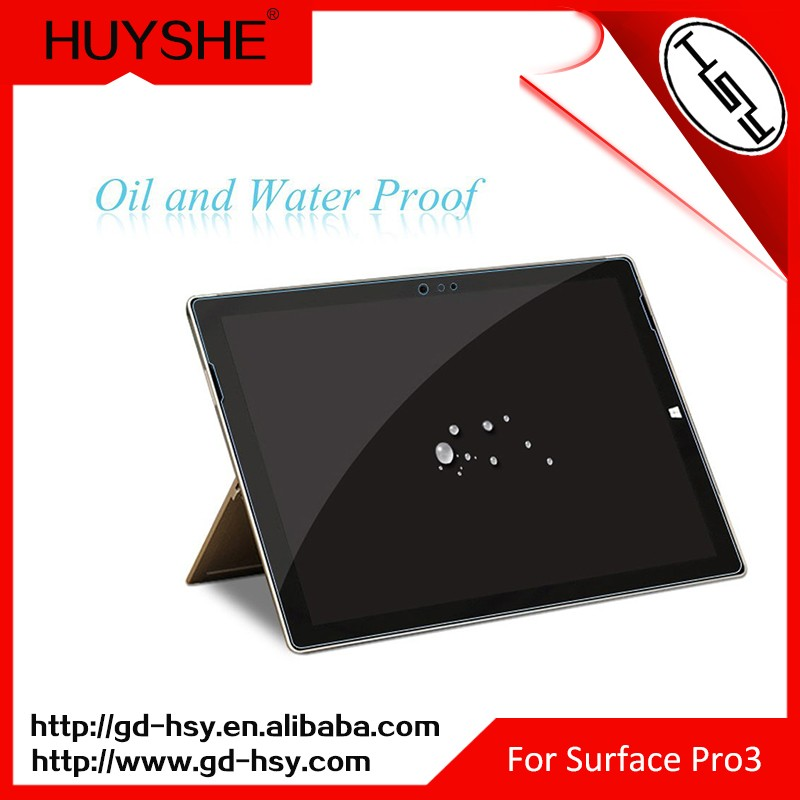 HUYSHE 9h tempered glass nano anti-spy anti radiation screen protector for laptop screen protector for Surface Pro 3 4