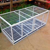 New arrival good quality outdoor metal welded wire mesh large dog cage