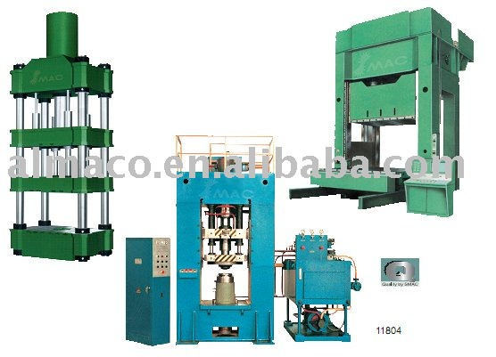 ALMACO YQ27 Series Single Action Hydraulic Stamping power Press