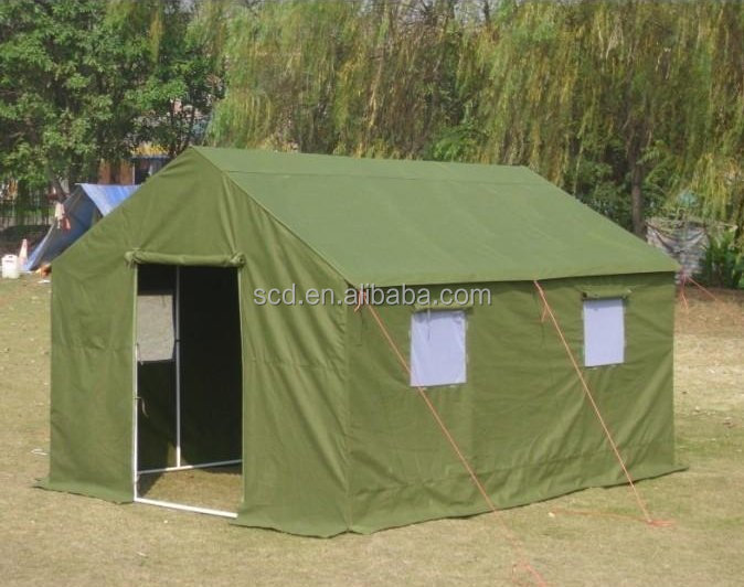 Waterproof Outdoor Used Steel Frame Military Tents For Sale