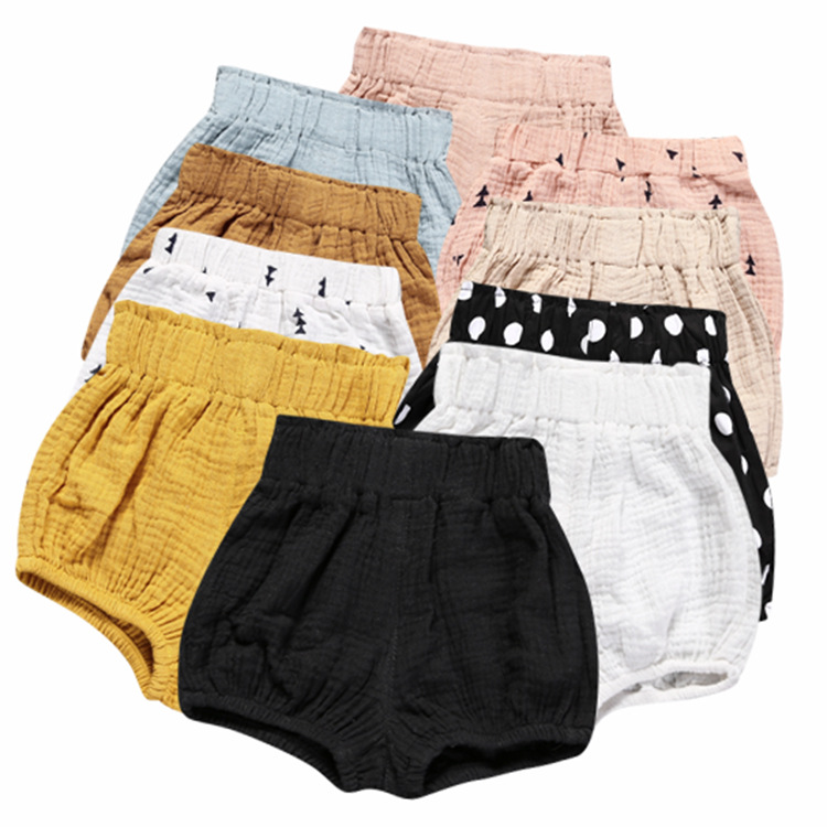 Summer 2017 cotton baby shorts striped kids hot sale shorts pants Cover Ruffled Panties For Baby PP Shorts Bloomers
