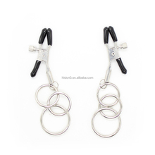 Simple Design SM Tiny Toy Three O-rings Decorative Vagina Clit Clip Breast Clamps Nipple Clamps