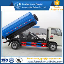 Quality 4x2 hook lift garbage truck for sale sale