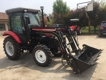 wheel type and farm tractor usage 55hp 4wd tractors