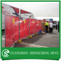 Guangzhou supply mobile fence, mesh mobile fencing, mobile pet fence