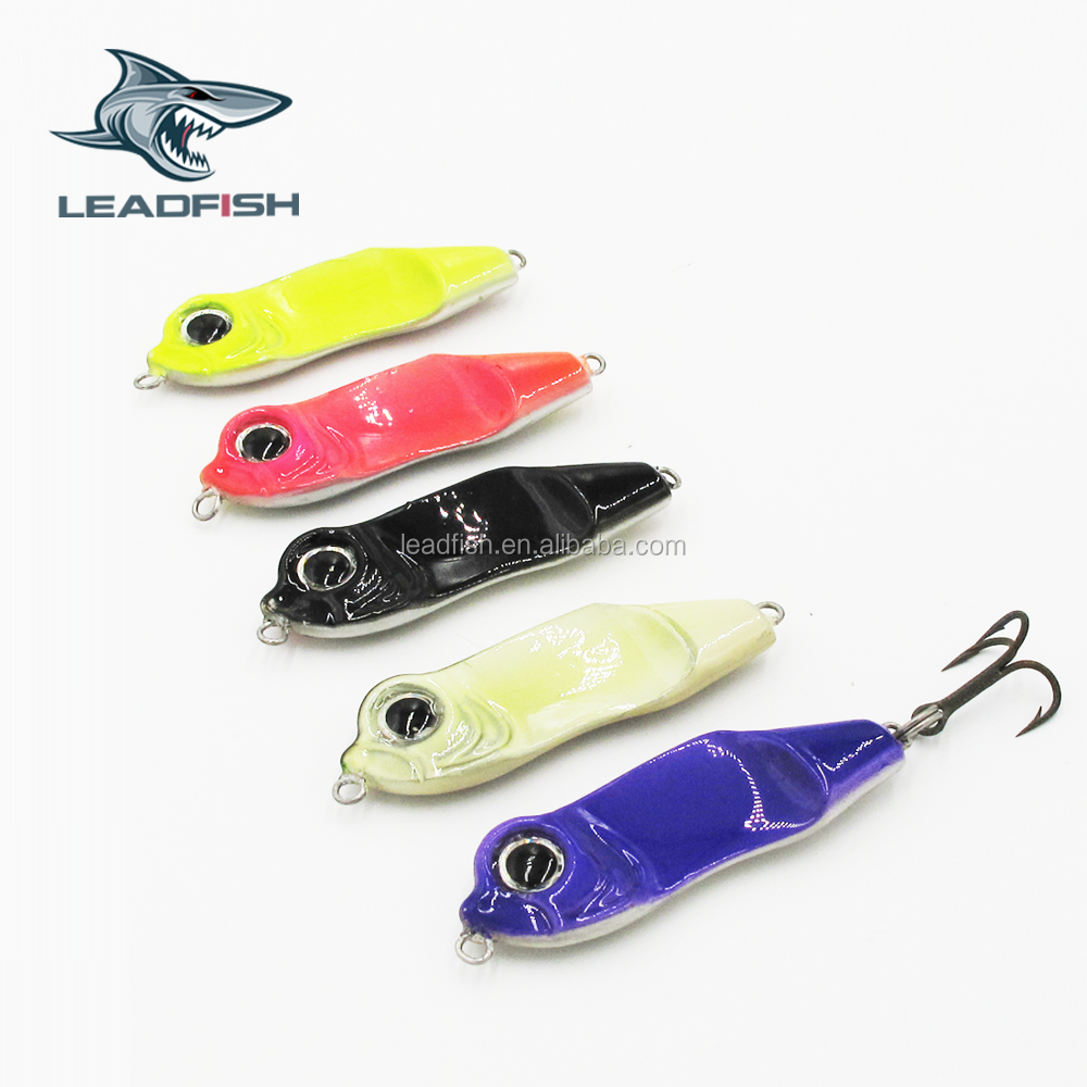 LF95- Leadfish-free fishing tackle samples10g/20g/40g/60g holographic tape metal lure lure parts