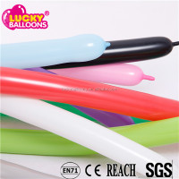 Wholesale balloons EN71 approved 100% latex long shaped modelling balloon