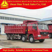 howo 8*4 dump truck with automatic transmission