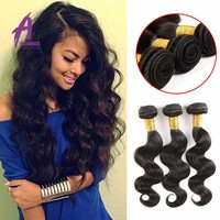 spuer hot Indian 8 A Grade Unprocessed Virgin Indian Body Wave Hair extension Virgin Remy hair