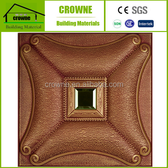 Decorative wall panel 3d wall panel leather carving Acoustic faux leather fiberglass decorative cladding wall panel