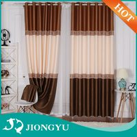Alibaba China Competitive Price American Style Blackout cafe living room curtain