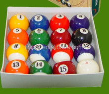 57mm billiard ball/pool ball/ billiard 8 balls