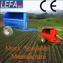 Agricultural granule spreader for Europe Market