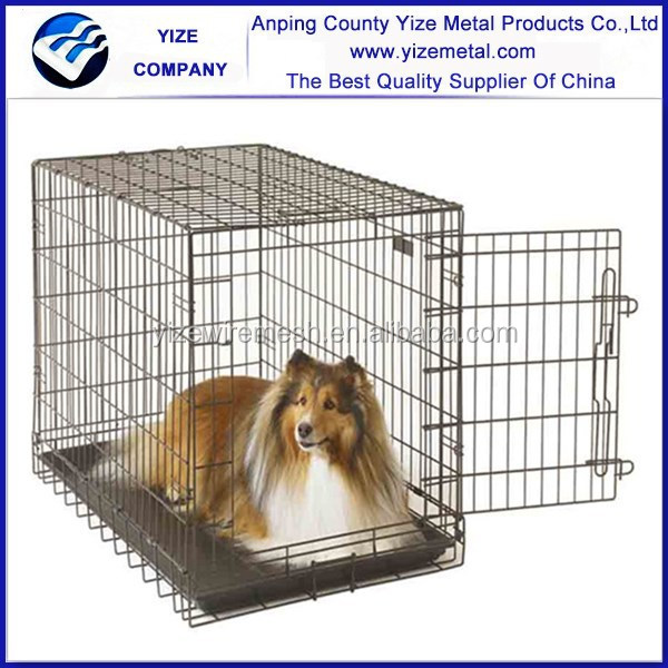 dog cage pet pen enclosure/galvanized metal dog cage