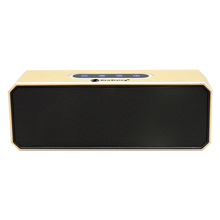 Wireless Bluetooth protable Mini Aluminum Speaker Box for Mobile Phone / Notebook / Tablet PC