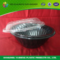 Custom Black BOPS/PET/PS Plastic Cheap Salad Storage Container