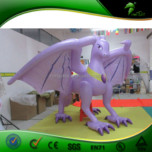 Custom Advertising Inflatable Purple Dragon, 2016 New Giant Inflatable Cartoon For Promotion Custom Inflatable
