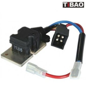 Blower Regulator/Resistor, Suitable for BENZ