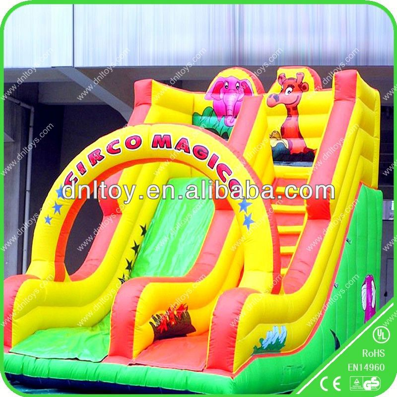 High Quality Outdoor toys cheap inflatable slides/ wholesale water slides
