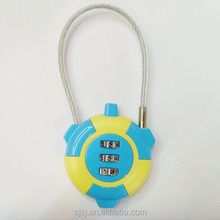 Combination lock travel supplies necessary travel mini wire rope bags luggage lock