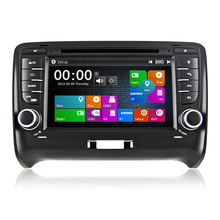 Winmark 7 Inch 2 Din Car Audio DVD Player Stereo With Dual Core GPS Bluetooth Radio EX-TV For Audi TT (2006 - 2012)