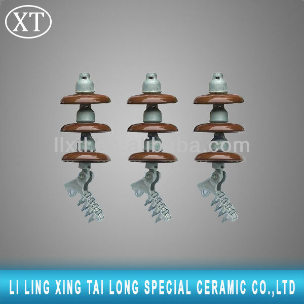 ANSI Class 52 120kn disc suspension porcelain insulator