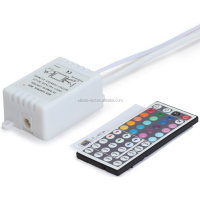 rohs led controller 44 Keys infrared RGB Controller lighting accessories ir remote control DC12V 6A For RGB 3528 5050 LED Strip