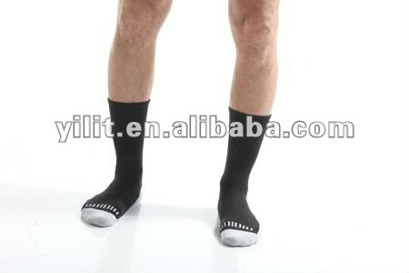 men merino wool compression sporty socks for hiking