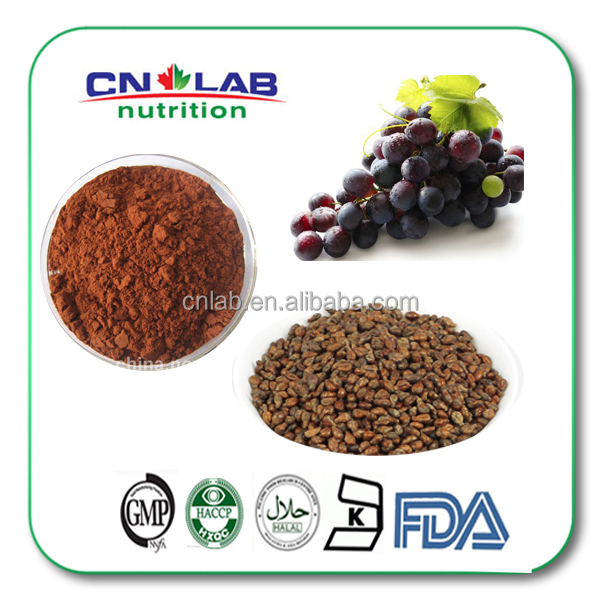 2015 Best Price Grape Seed P.E/Extract Powder for Healthcare Prodcuts