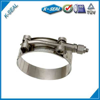 Stainless Steel T-Bolt Hose connector KTB206SS