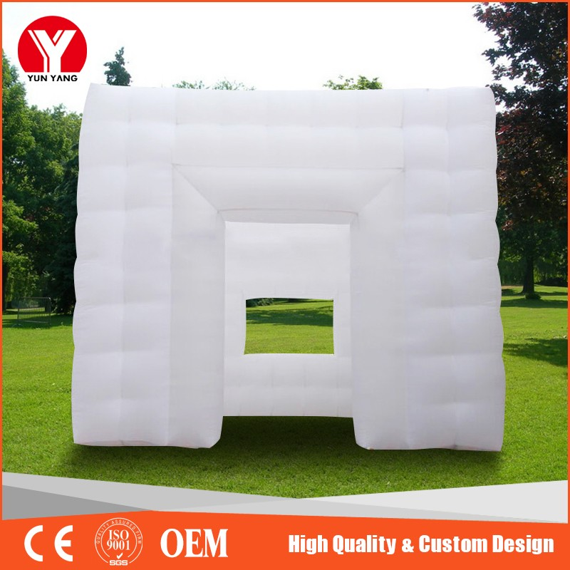 2016 Hot inflatable photo booth, inflatable cube booth